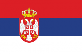 Drapeau Serbie