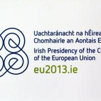 Le calendrier de la présidence irlandaise