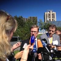 Les explications des ministres après le Gymnich