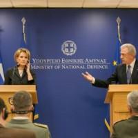Carnet (15.01.2014) Délégation US • Présidence italienne • Grèce et Albanie • JSF et armes nucléaires • Vente de chars
