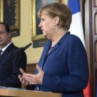 Merkel et Hollande lancent un appel à la responsabilité à Moscou … et à Kiev