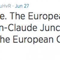 Jean-Claude Juncker. Nommé sans enthousiasme