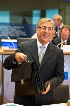 Karmenu Vella à laudition du Parlement européen ce lundi (29 sept) (crédit : PE)