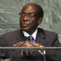 Robert Mugabe, dirigeant du Zimbawe, mis au ban de l'UE avec son gouvernement (ici à l'ONU, crédit : ONU)