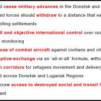 Le plan de cessez-le-feu «Ukraine» en 12 points