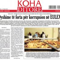 Une affaire de corruption sème le trouble au coeur d'EULEX (maj)