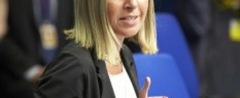N°20. La Haute représentante de l'UE, Miss Mogherini