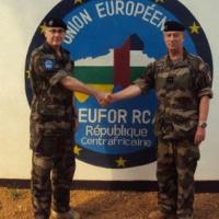 EUFOR RCA : 8 mois et demi après (Général Lion)