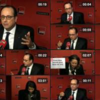 Ukraine et Russie, Syrie, Iran et Libye (Fr. Hollande)