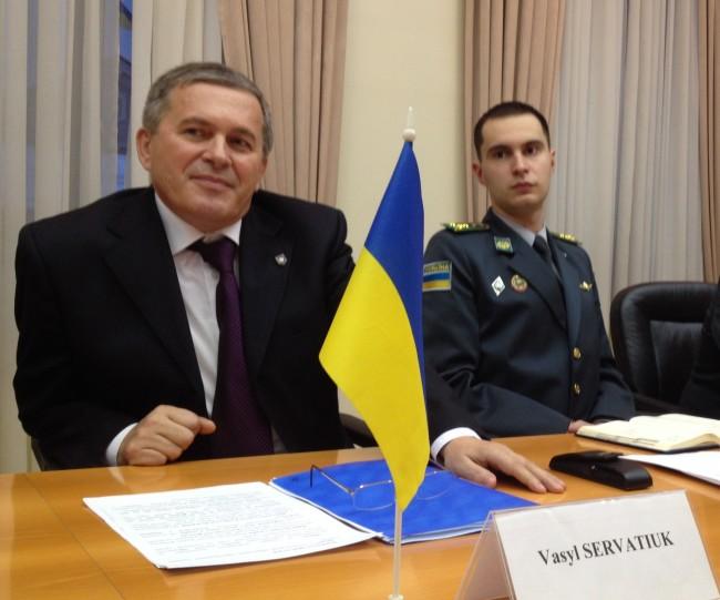 Les gardes frontières ukrainiens… sur la ligne de front