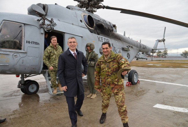 NATO Secretary General visits KFOR