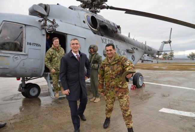 NATO Secretary General visits KFOR