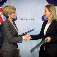 Australie et Europe veulent renforcer leurs liens. Un accord cadre pour les missions PSDC signé