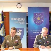 L'Eurocorps cherche à mieux coopérer avec l'UE. Une lettre d'intention