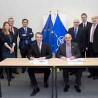OTAN et UE signent un accord technique sur la cyberdéfense