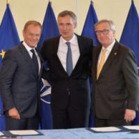 OTAN-UE. La déclaration de Varsovie. Sept domaines de coopération et 42 mesures communes (fiche)