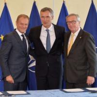 OTAN-UE. La déclaration de Varsovie. Sept domaines de coopération et 74 mesures communes (fiche) (V2)