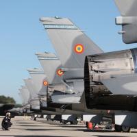 Première livraison des F-16 portugais à la Roumanie, en attendant le F-35 ?