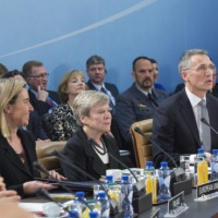 Le rôle de l'UE dans la défense, selon Stoltenberg et Mogherini. Des différences… Et un QG militaire en balance