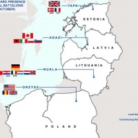 Les quatre bataillons de la présence avancée de l'OTAN à l'Est. Détails…