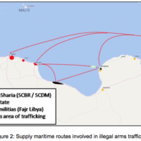 Le contrôle des armes au large de la Libye (rapport)