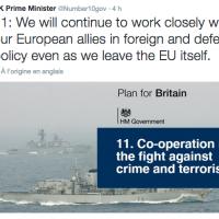 Le Royaume-Uni veut rester arrimé à la politique extérieure européenne