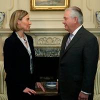 Mogherini demande à Washington de ne pas «interférer» dans la politique de l'UE