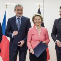 Roumains, Tchèques et Allemands vont faire brigade commune