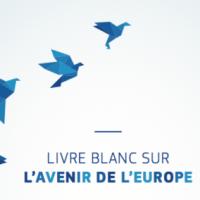 Un livre blanc, avec cinq scénarios sur l'avenir de l'Union européenne