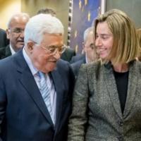 L'UE et Mahmoud Abbas fixent une position commune… face aux États-Unis