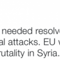 Les frappes américaines en Syrie prennent une partie de l'UE à revers (V2)