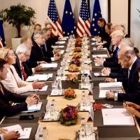 Réunion spéciale de l'OTAN (25 mai 2017) : surtout un face à face UE-Etats-Unis (V2)