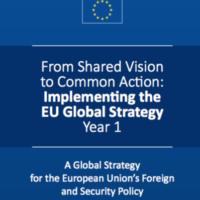 Un an après. L'UE satisfaite de sa stratégie globale