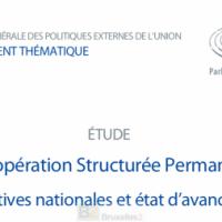 La coopération structurée permanente. Un cadre ou un processus ?