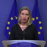 Ce n'est pas aux Etats-Unis de décider seuls de changer un deal international (Mogherini)
