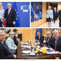 Fumée blanche sur le Berlaymont. Premier accord sur le Brexit