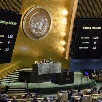 La position américaine sur Jérusalem condamnée à l'ONU : Européens divisés, USA humiliés (V2)