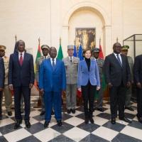Paris veut accélérer la «montée en puissance» du G5 Sahel