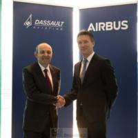 Airbus et Dassault scellent à Berlin leur coopération sur le futur avion de combat