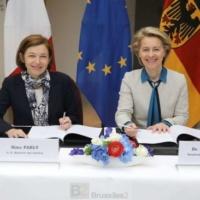 Char de combat, avion du futur, satellite… Français et Allemands signent leurs fiançailles