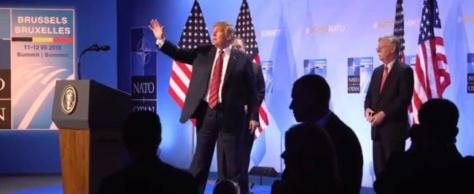 Trump secoue l'Alliance. Une fêlure sérieuse, mais la cassure est évitée