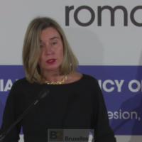 Tous d'accord pour garder l'opération Sophia et même la renforcer sur certains points (Mogherini)