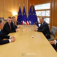 A la recherche de quatre noms pour diriger l'Europe demain. Le mandat de Donald Tusk