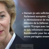 Ursula von der Leyen met sa démission de MinDéf dans la balance pour emporter les voix de sa majorité