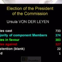 Ursula von der Leyen élue présidente de la Commission européenne 2019-2024. De justesse