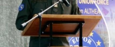 Un nouveau commandant de la force de l'UE en Bosnie-Herzégovine