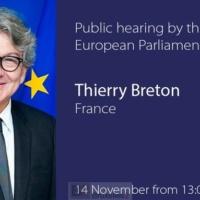 Grand oral réussi pour Thierry Breton. Ma boussole sera l'intérêt général européen