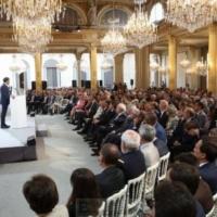 «Nous devons offrir une option stratégique à la Russie» dixit Emmanuel Macron à la conférence des ambassadeurs