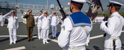 Prendre le commandement d'Euromarfor : c'est stimulant (VAE Jean-Philippe Rolland)