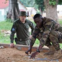 Reportage à Bangui 2. La formation des FACA : plongée dans le travail de la mission
